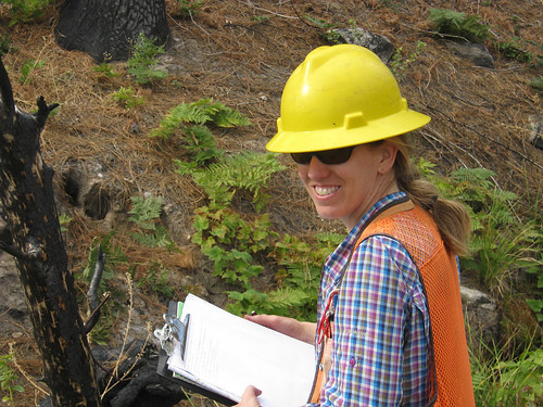 Forest Hydrologist Tracy Weddel