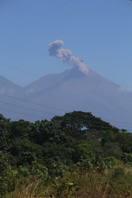 Volcan Fuego.  Guatemala.