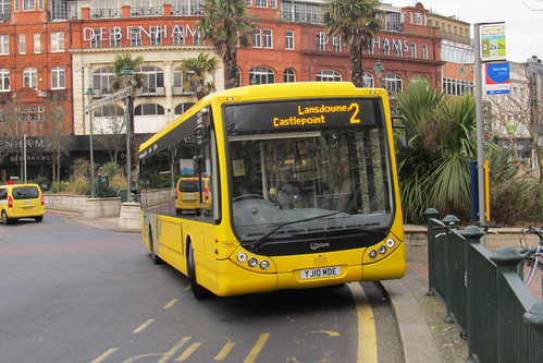 TM101 Yellow Buses Bournemouth YJ10MDE