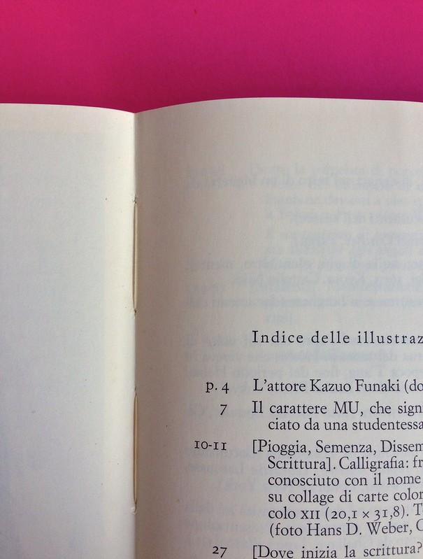 Roland Barthes, L'impero dei segni. Einaudi 1984. Indice delle illustrazioni, alla pag. 133 (part.), 1