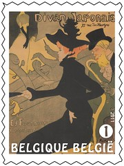 15 TOULOUSE LAUTREC timbred