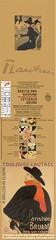 15 Carnet Toulouse Lautrec cover complète 100%