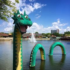 Lego Dragon #lego #dragon #scottalynch #Disney #downtowndisney