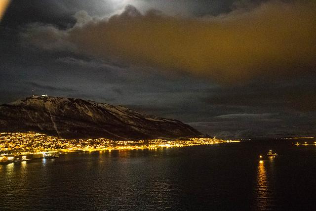 Puente de Tromsø a Tromsdalen