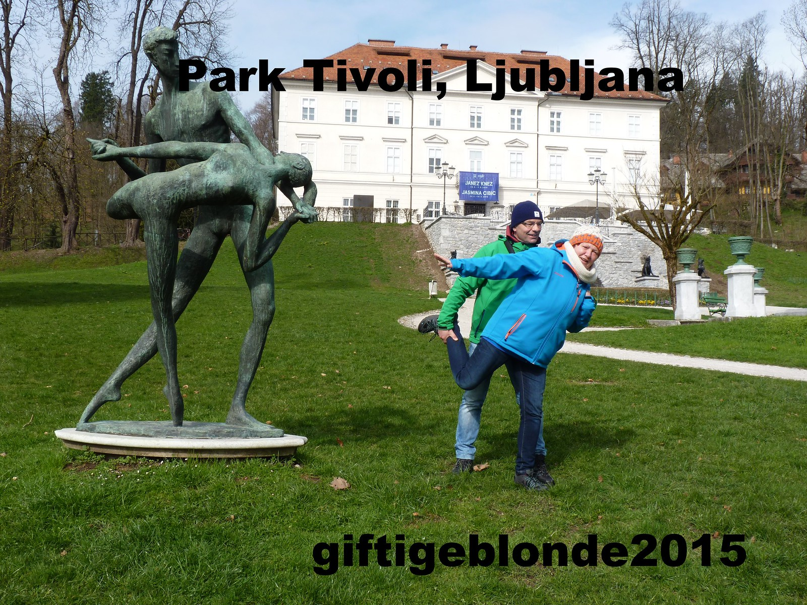 Slowenien, Ljubljana, Park Tivoli