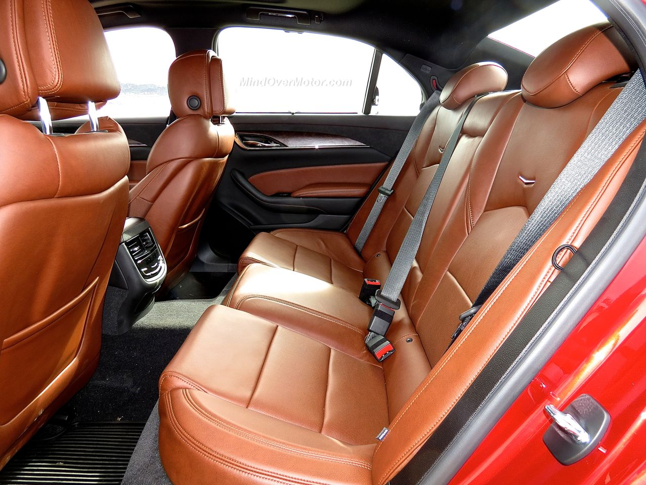 Cadillac CTS Vsport Rear Seat