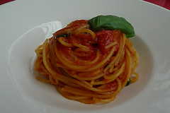 Milan - Armani Caffe pasta