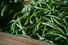 rosemary(0.0), plant(0.0), longjing tea(0.0), fruit(0.0), vegetable(1.0), green bean(1.0), produce(1.0), food(1.0),