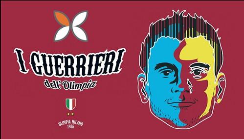 """Ordina la t-shirt gratuita """"I Guerrieri dell'Olimpia"""""""