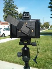 Pinhole Polaroid super shooter. Can't wait for pinhole day.