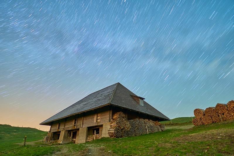 Star trails - Rämisgummen