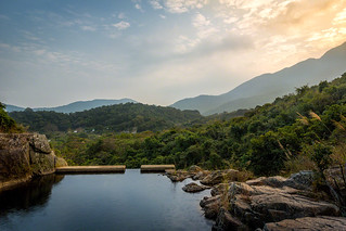 Water Pool in the Mountains of Mui Wo