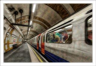 Londres - London Tube - Fractalius2