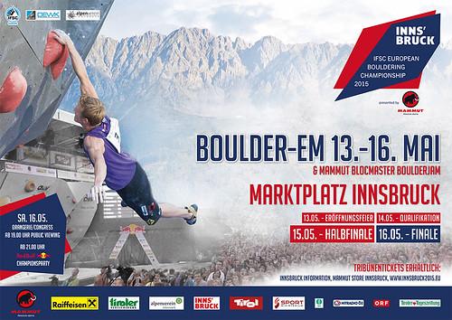 IFSC European Championship Innsbruck 2015