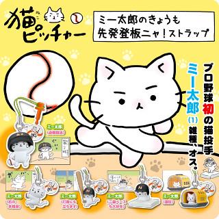 TAKARA TOMMY【貓咪大聯盟】超強貓投手 ミー太郎