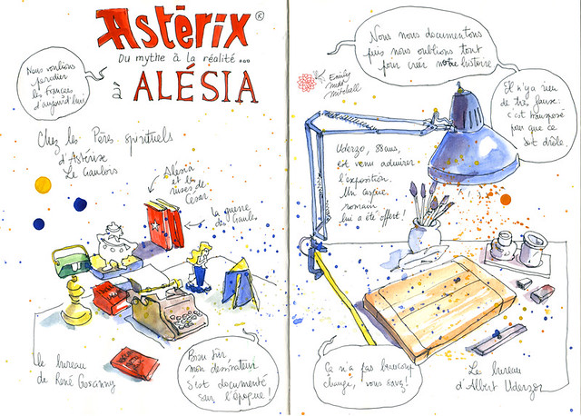 Cote dOr - Alesia 1 Expo Asterix - Emily Nudd-Mitchell