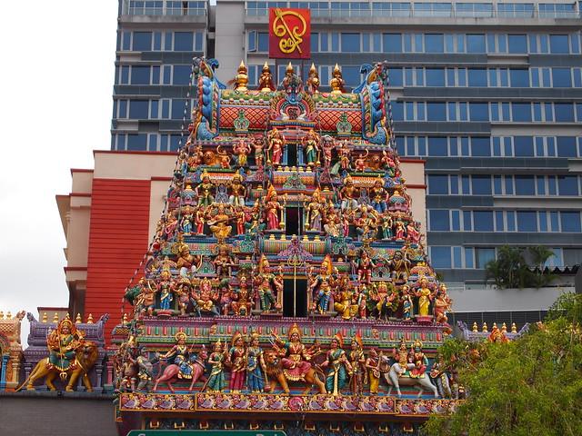 P4178944 スリ・ヴィラマカリアマン寺院 シンガポール ひめごと