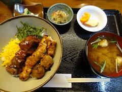 yakitori Bowl Lunch @Budouya, Yurakucho, Tokyo