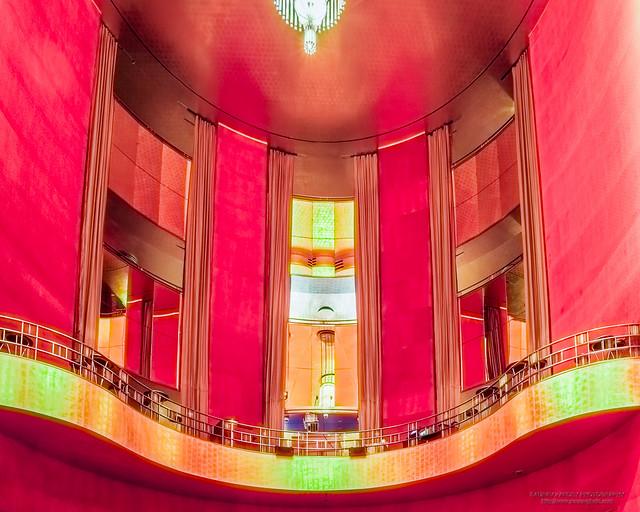 Grand Foyer at the Radio City Music Hall