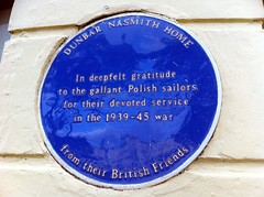 Photo of Dunbar Nasmith Home blue plaque