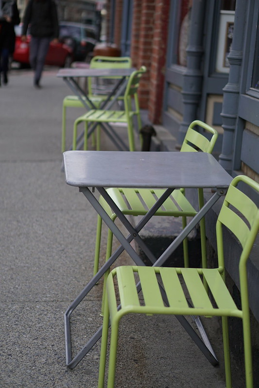 Lime Green Chairs Beacon