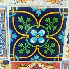A tile a day #mexicantiles #colour