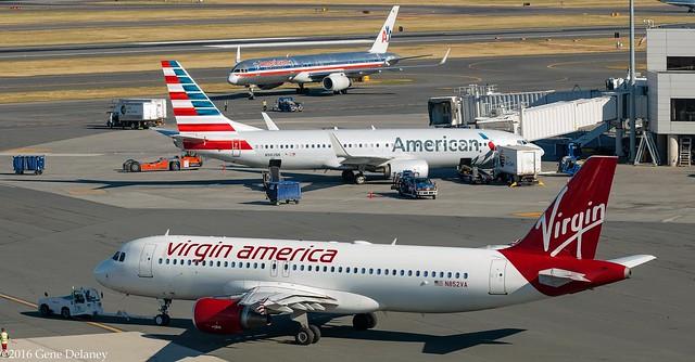 Virgin America Inc, N852VA, 2012 Airbus A320-214, MSN 5004, FN 852,