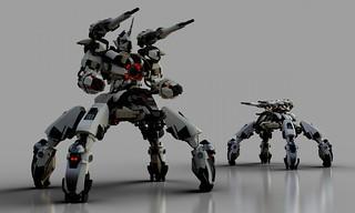 Gundam Chroma S3 Polaris Tankbot (LDD Building Instructions)  by  Matt_one