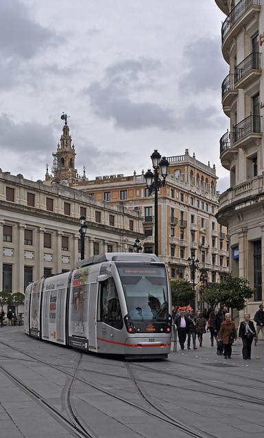 Spain - Andalucia - Seville - tram