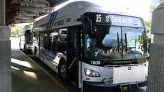 2015 New Flyer Industries XN40 MARTA Bus #1606 On The 15 - Forest Parkway/S . Dekalb