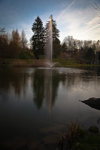 trees water germany garden thüringen spring wasser thuringia german spa bäume frühling eic kurpark landkreis eichsfeld heilbadheiligenstadt canoneos5dmarkii ef2470mmf28liiusm