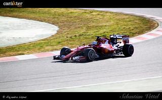 Sebastian Vettel - Test Pretemporada F1