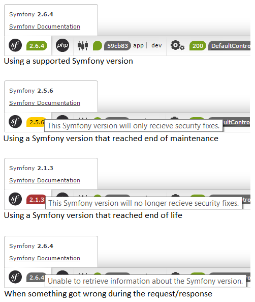 Symfony Version Feedback