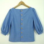 Chambray Mathilde Blouse