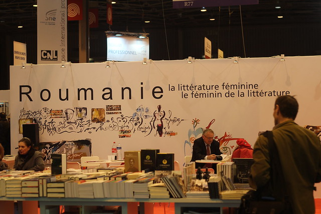 Roumanie - Salon du Livre de Paris 2015