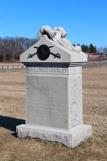 Gettysburg Day 1, 8th Illinois Cavalry