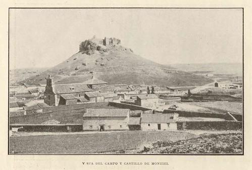 Vista del campo y castillo de Montiel