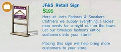 JF&S Retail Sign