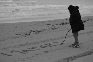 Scrivi il mio nome sulla sabbia