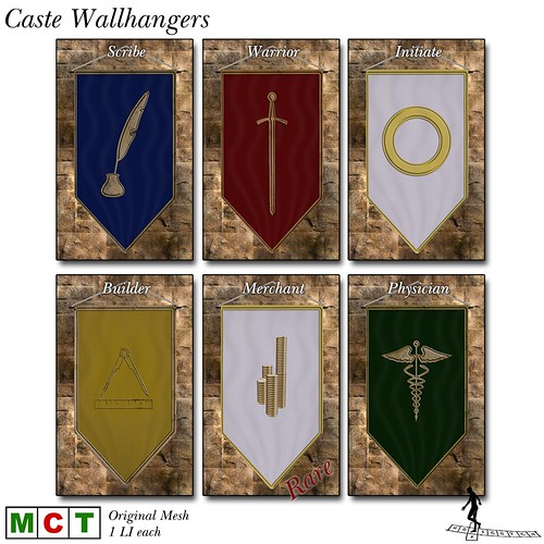 Caste Wallhangers