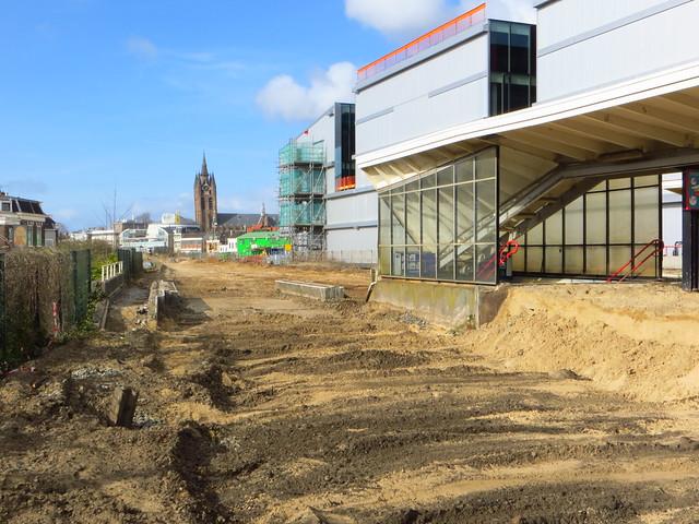 20150402 Delft - ontmanteling station