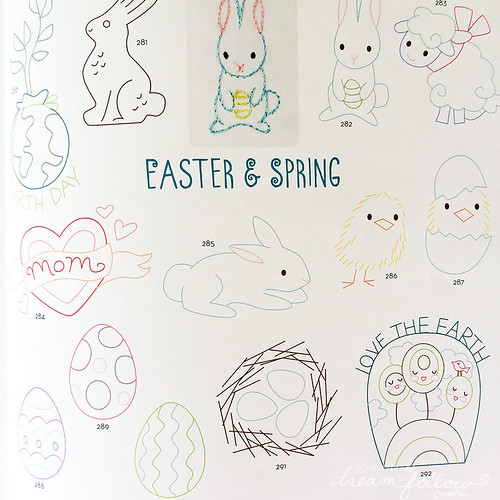 spring and easter page