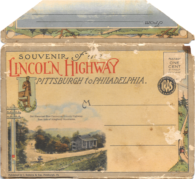 Lincoln Highway top envelope