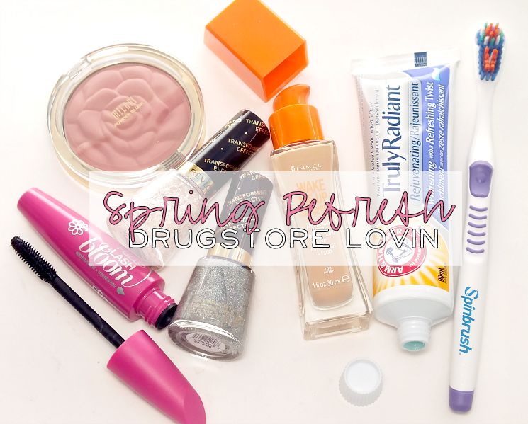 drugstore lovin' spring refresh