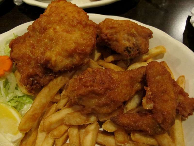 Good Fry Day: Fried chicken and fries