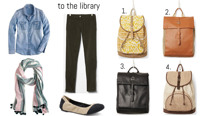 toms to the library