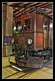 Berlin - Deutsches Technikmuseum Berlin - Rhätischen Bahn RhB Ge 4-6 Baujahr 1913 03