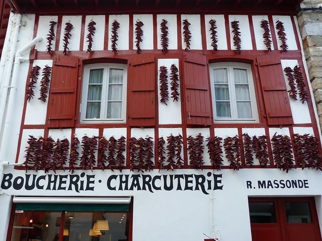 Espelette (Ezpeleta) en el País Vasco francés