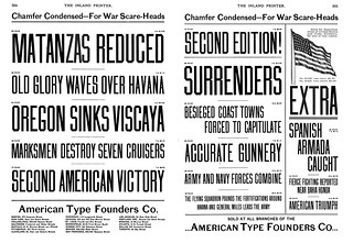 Chamfer Condensed–For War-Scare Heads
