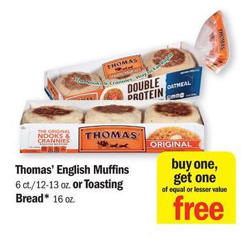 Thomas english muffins coupons printable